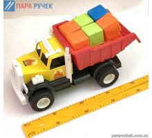 KinderWay.машинка Фарго с 12 кубиками (12-010-5)