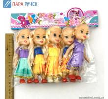 Кукла 825 (5шт) в пакете