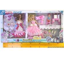 Кукла типа Барби 2103-410 салон красоты в кор.