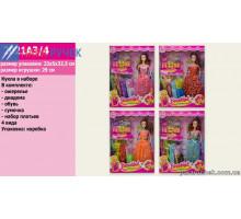 Кукла 2021А3 набор платьев, аксесуары в кор. 32,5*5*23см