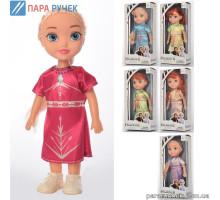 Кукла XD64-2-3-4 FR, 20см, муз., на бат-ке, 6 видов в кор. 10*22см