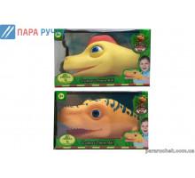 Голова динозавра Т57015 одевается на руку в кор. 26*18*12см