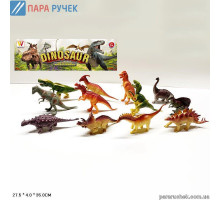 Животные 2093А динозавры, 6шт. в наборе в пакете 21*4*32см