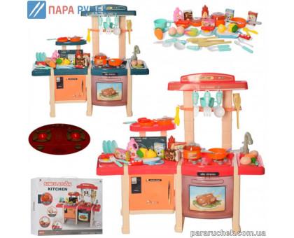 Кухня MJL-713 плита, мойка, духовка, посуда, продукты, в кор. 56*46см