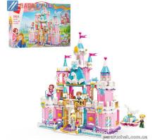 Конструктор Qman 2616 замок принцессы, мебель, 801дет., в кор. 56*36см