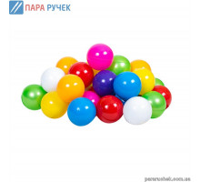 Кульки малі арт. 0263 діам. 6см. 50шт. Бамсік