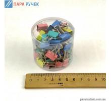Биндер №15 5235-15 цветные (60шт)