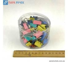 Биндер №25 5235-25 цветные (48шт)