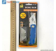 Нож канц. DK-828 +лезвие строительный