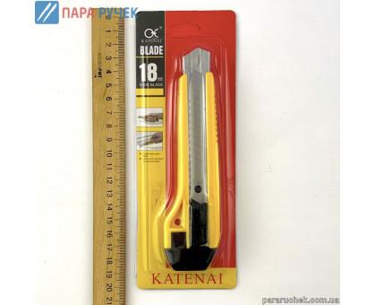 Нож канц. 18мм. усиленный R-201