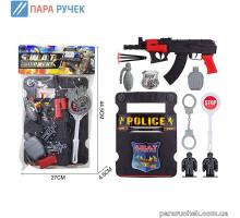Полицейский набор 2020-34 в пакете 44*27см