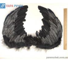 Крылья черные мал К-198