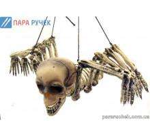 Скелет-паук подвесной 72007