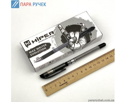 Ручка шарик. Hiper Max Writer Evolution HO-335-ES черная