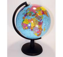 Глобус 22см средний политический