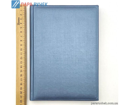 Ежедневник ЗВ-43 Gospel голубой металлик