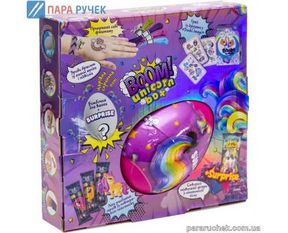 """Креативна творчість """"Boom! Unicorn Box"""" BUB-01-01U Данкотойс"""