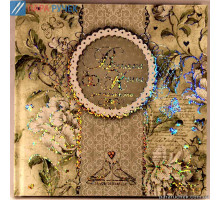 "Свадебный альбом для пожеланий (205Х205) ""Мандарин"""