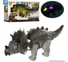Динозавр Y333-05 ходит, звук, свет, на бат. в кор.