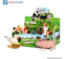 М+Животные 588-2 домашние, 12шт в дисплее, 25*17см