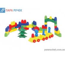 ColorPlast Конструктор Мастер-Блок №2 1-024 54дет.