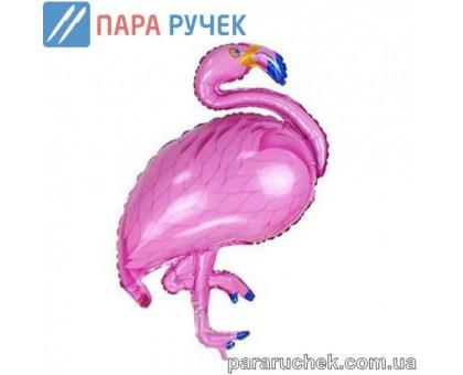 """Шар возд. фольга """"Фламинго"""" розовый 105см.*65см."""