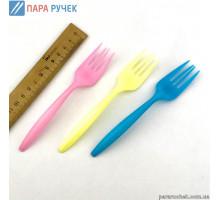 Вилки пластик цветные (24шт)