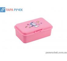 Ланч-бокс Е98390 пласт. 750мл. розовый