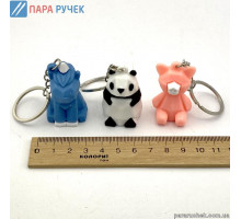 Брелок 3BR (0246) животные 3D