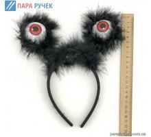 Обруч черн. глаза (16-2)
