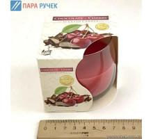 Свеча стакан Новый Год+фруктовые (71)