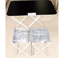 "Комплект ""Пикник"" стол+2стула алюм+фанера (6270)"