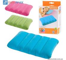 Подушка надувная 43-28-9 см 3 цвета (68676)