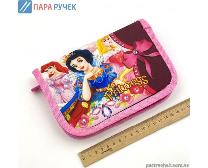 Пенал 1 отд. 2 отв. 930411 принцессы