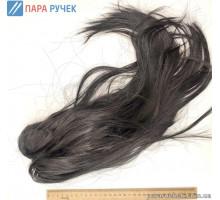 Парик черный длинные волосы