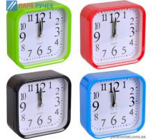 Часы настольные-будильник Х2-17 9,5*9,5*4см
