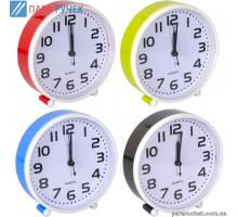 Часы настольные-будильник Х2-21 14*14*4см