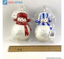 """Игрушка Н.Г. """"снеговик м."""" №140 9см Украина(2цв)"""
