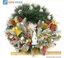 Венок новогодний №131 35см Украина