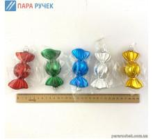 """Игрушка Н.Г. """"цукерка"""" гальваника №358 12см. Украина"""