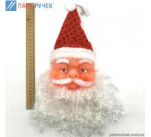 Голова Деда Мороза №60 большая