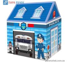 Палатка МR 0626 домик, полиция, 100*73*107см на колышках в сумке