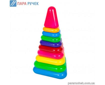 """Пирамидка """"трикутна №7"""" 1809 Бамсик"""