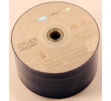 Диск DVD-R(+R) ESPERANZA (50шт.)