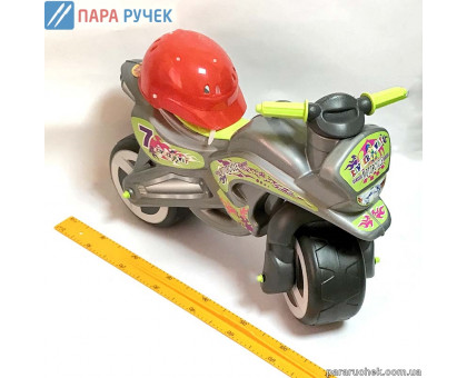KinderWay.Мотоцикл с каскай (11-007)