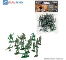 ColorPlast Солдатики Пехота №1 1-040(0390)