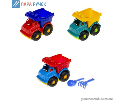 ColorPlast Машинка самосвал № 0169 Тотошка