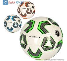 Мяч футбольный EV 3307, ПВХ, 300-320г, 3 цвета