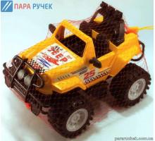 KinderWay.Машинка - джип Сафари, в сетке (12-001-1)