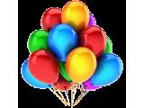 Воздушные шары, хлопушки